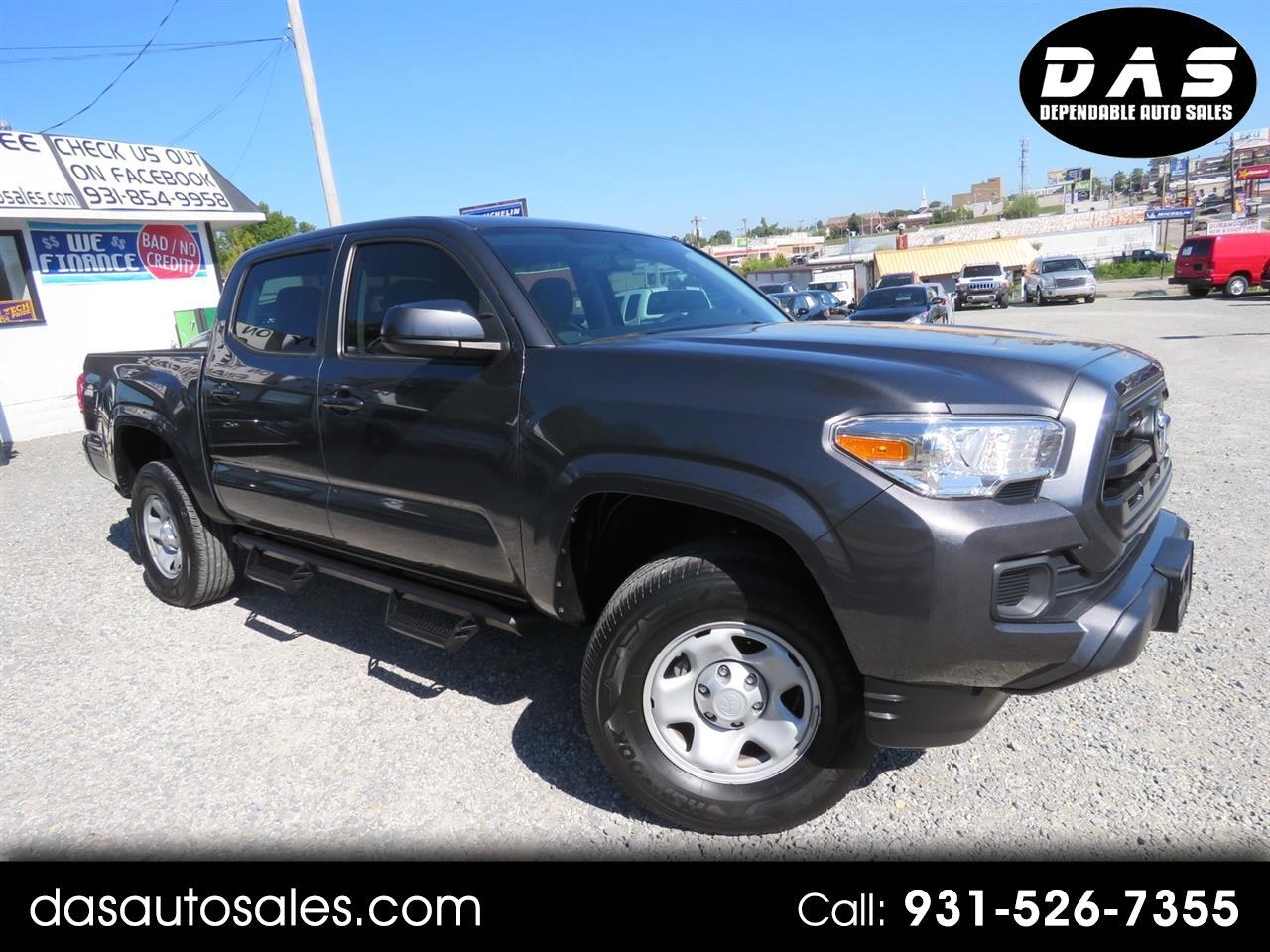 2017 Toyota Tacoma SR Double Cab 5' Bed I4 4x2 AT (Natl)