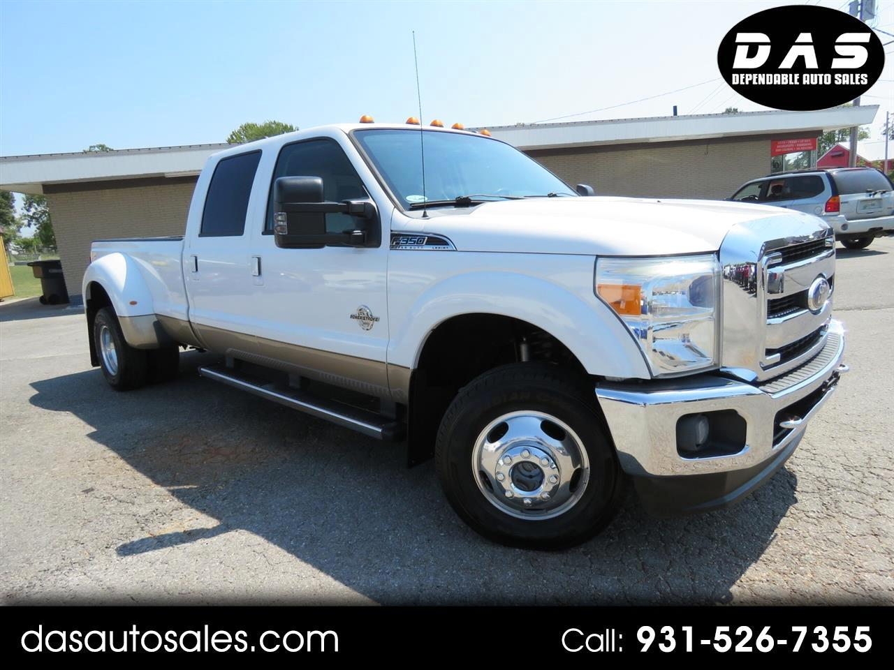 "2011 Ford Super Duty F-350 DRW 4WD Crew Cab 172"" XL"