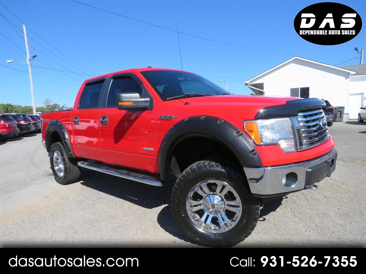 "2011 Ford 150 4WD SuperCrew 145"" XLT"