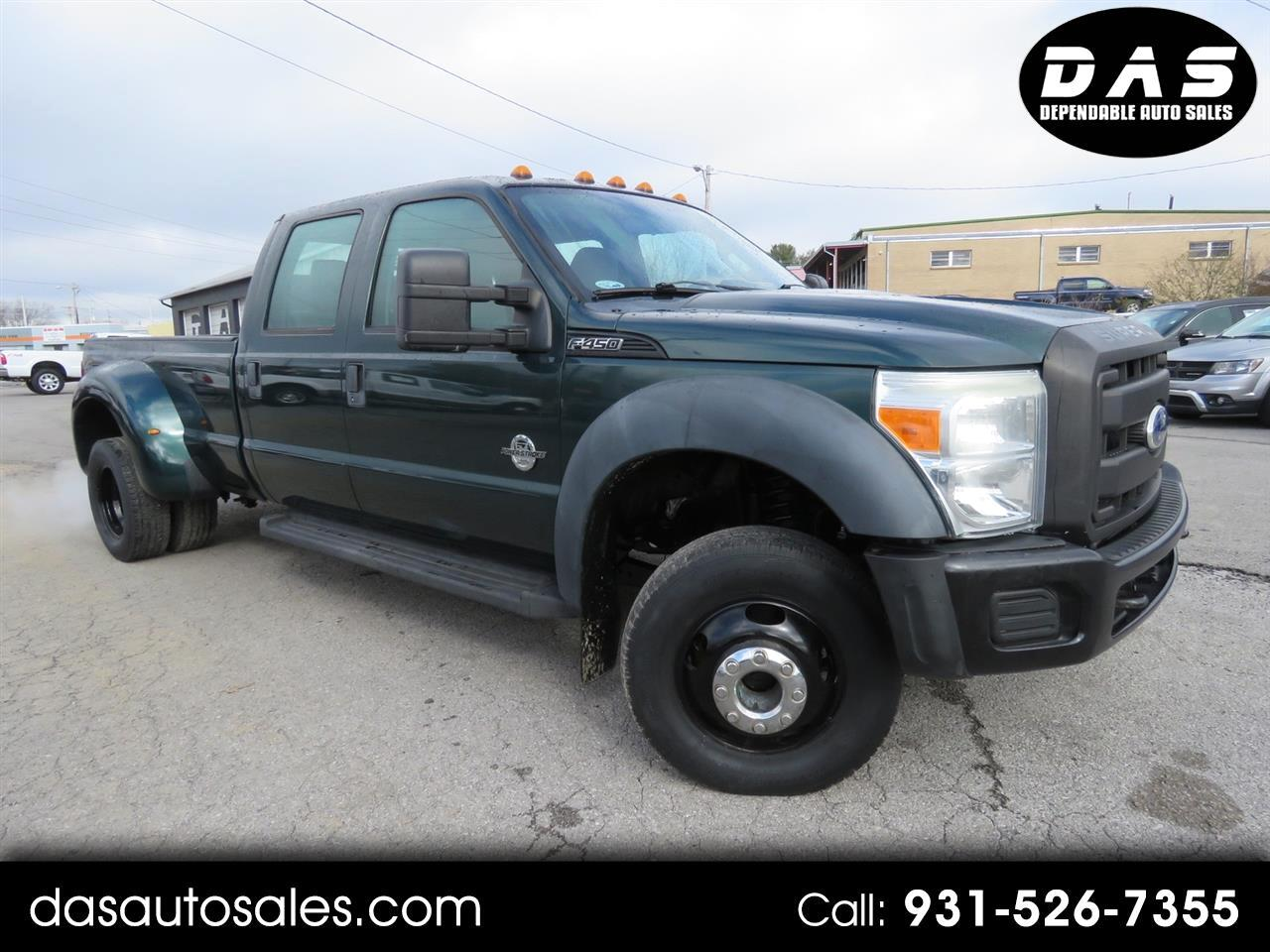 "Ford Super Duty F-450 DRW 4WD Crew Cab 172"" King Ranch 2011"