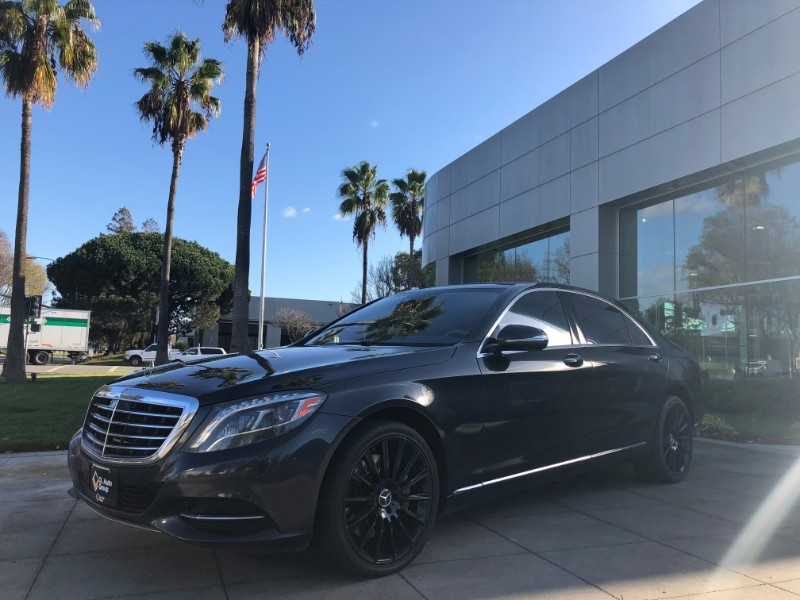 2014 Mercedes-Benz S-Class 4dr Sdn S550 RWD