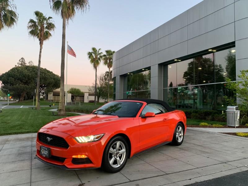2016 Ford Mustang V6 Convertible