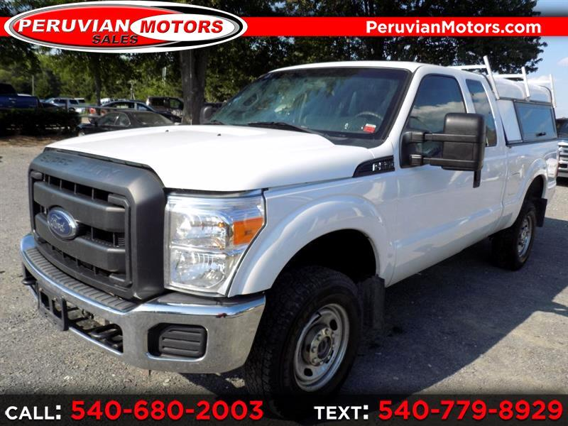 2014 Ford F-350 SD XL SuperCab 4WD