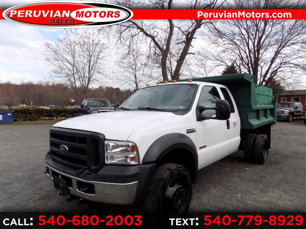 Ford F-450 SD SuperCab 4WD DRW 2007