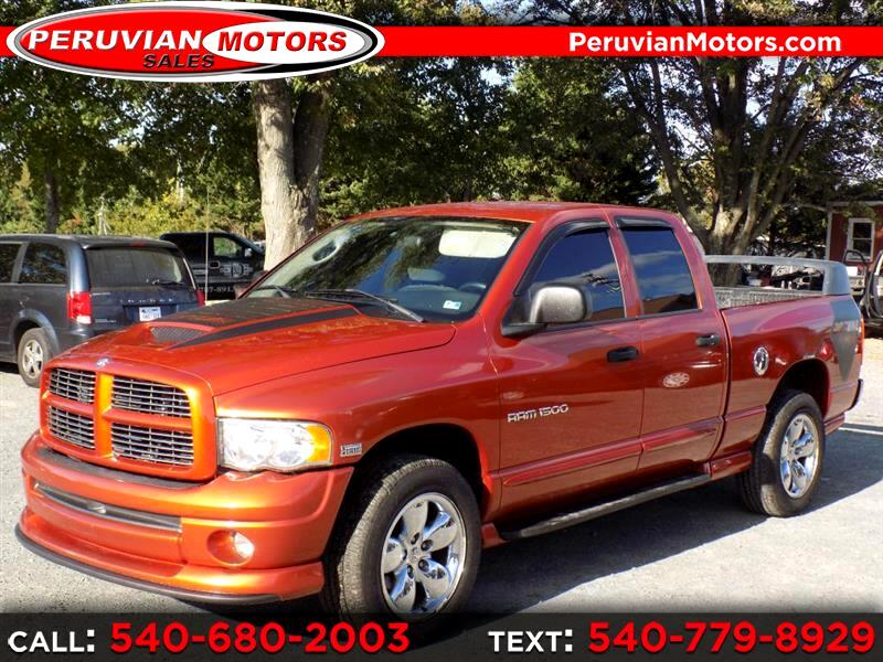 2005 Dodge Ram 1500 ST Quad Cab Long Bed 4WD