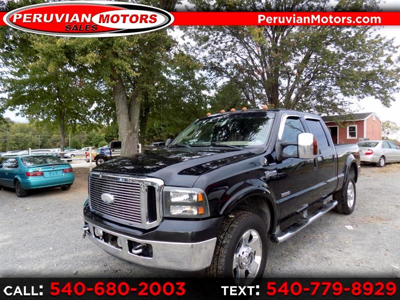 2007 Ford F-350 SD XL Crew Cab 4WD