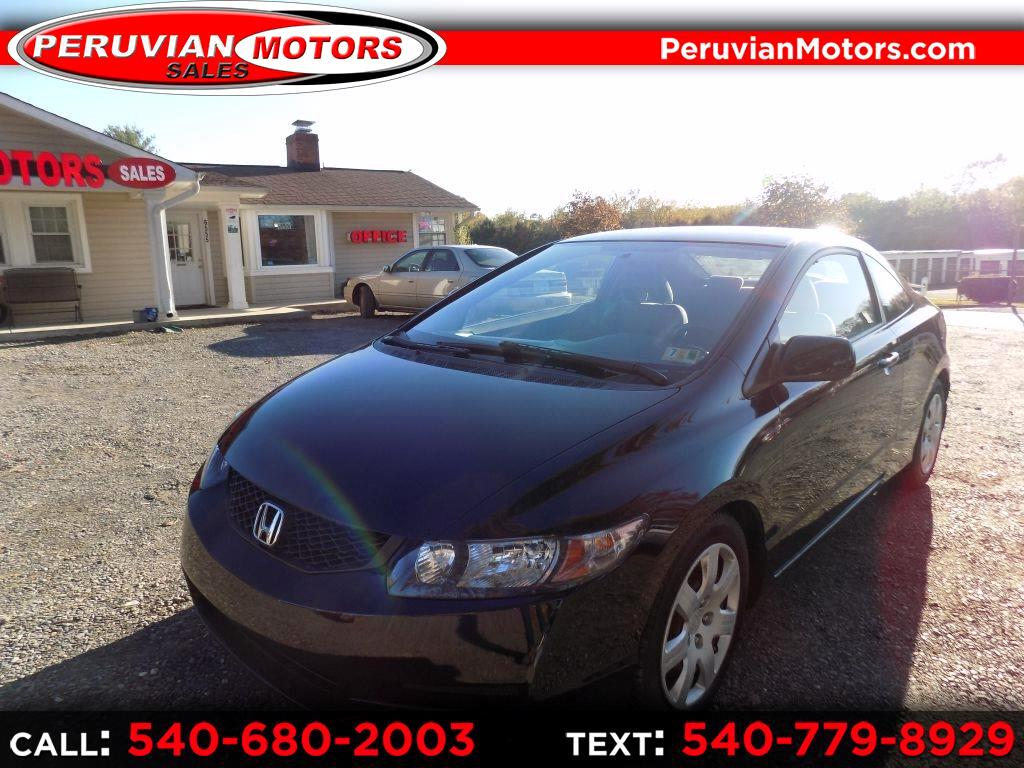 Honda Civic LX Coupe 5-Speed AT 2010