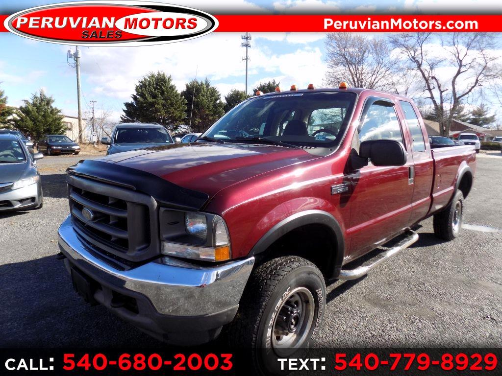 Ford F-250 SD XL SuperCab 4WD 2004