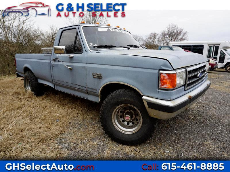 1989 Ford F-150 Reg. Cab Long Bed 4WD
