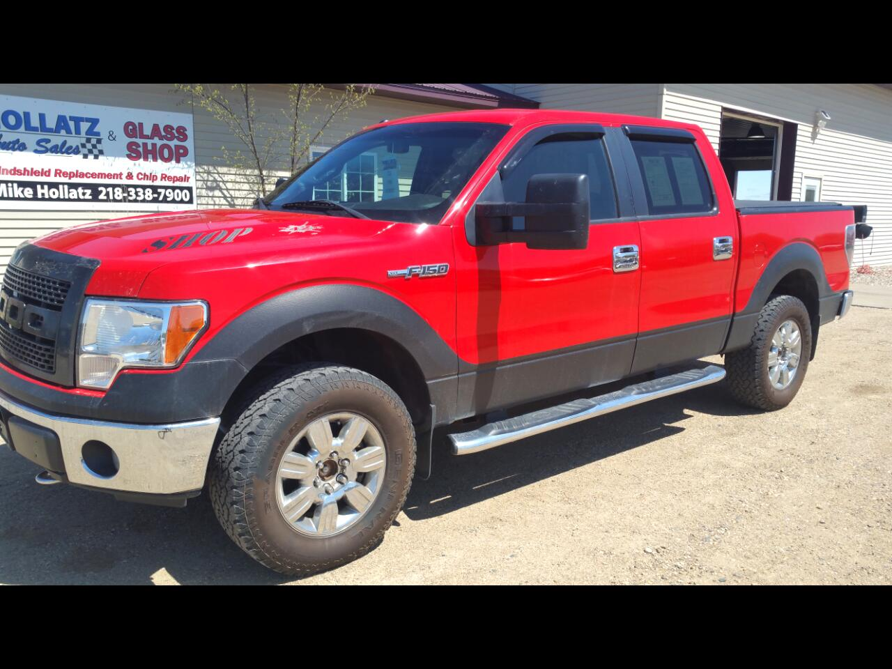 "Ford F-150 SuperCrew 139"" XLT 4WD 2012"
