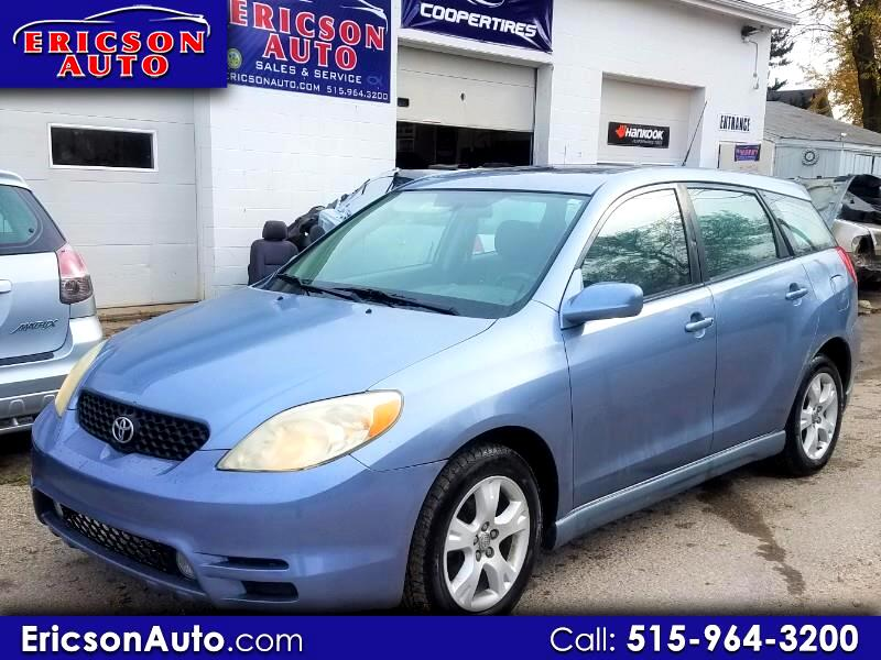 2003 Toyota Matrix XR 2WD