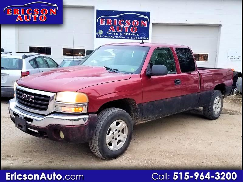 2003 GMC Sierra 1500 SLE Ext. Cab Short Bed 4WD