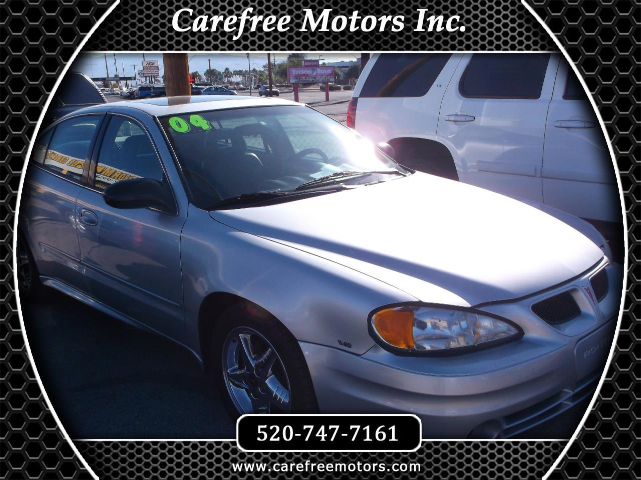 2004 Pontiac Grand Am 4dr Sdn SE