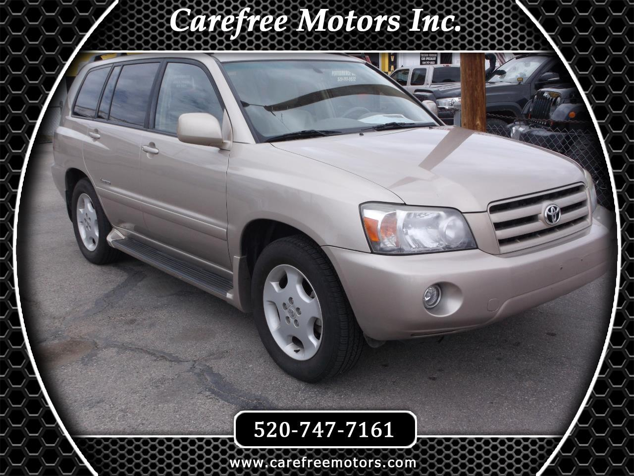 Toyota Highlander V6 2WD with 3rd-Row Seat 2007