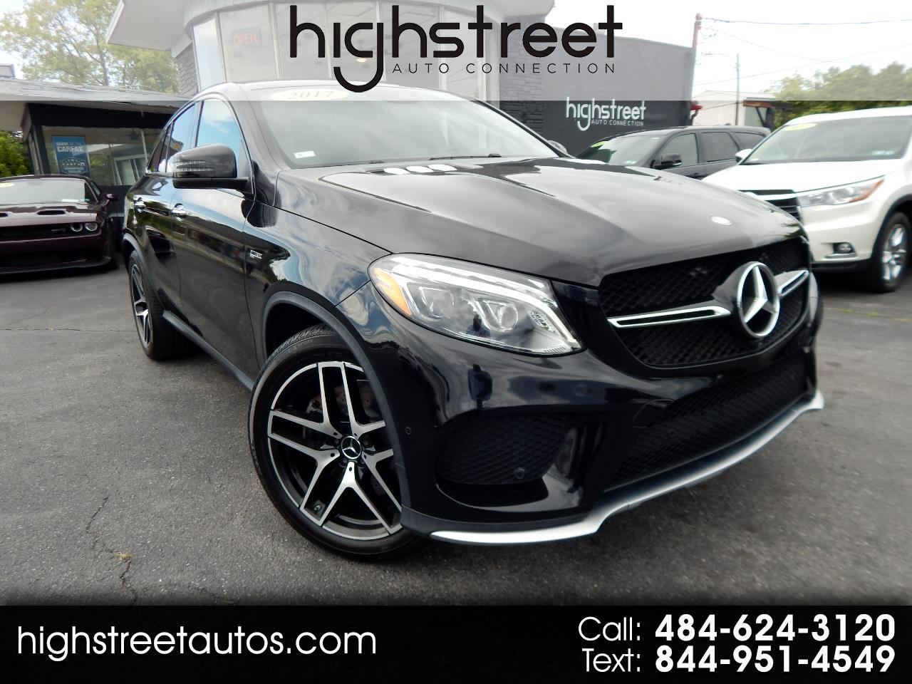 Mercedes-Benz GLE AMG GLE 43 4MATIC Coupe 2017