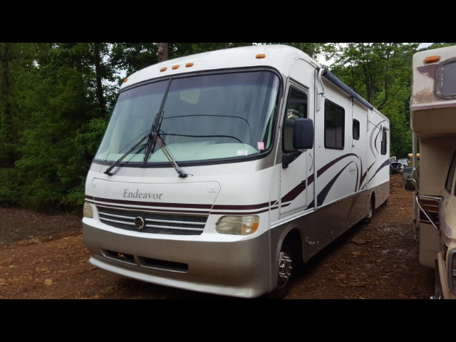 1999 Ford Class A Motorhome Chassis Endeavor motorhome