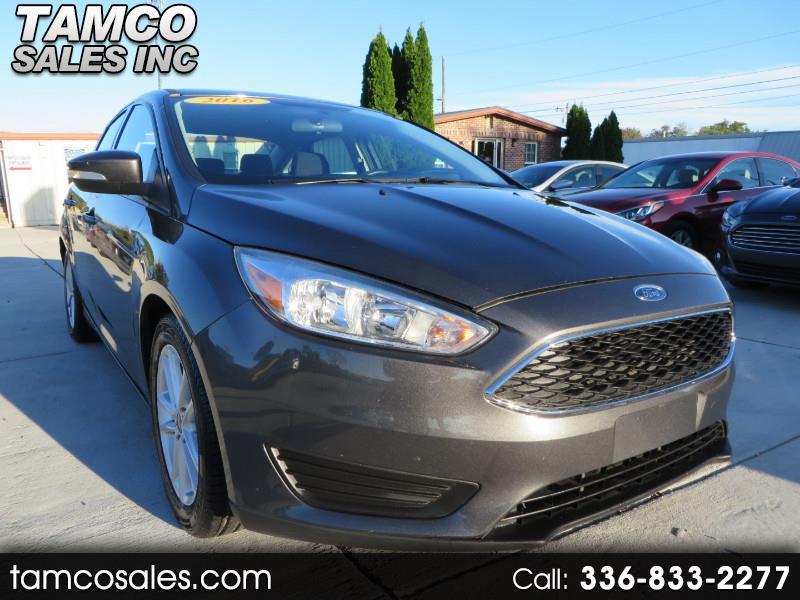 2016 Ford Focus SE Sedan