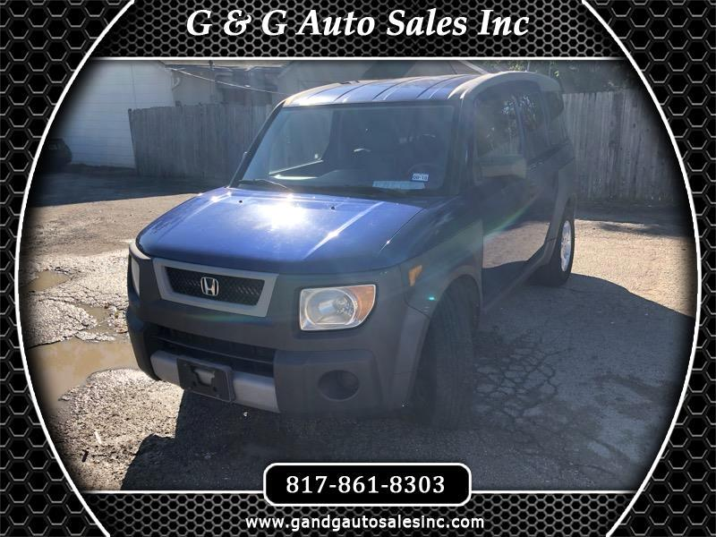 2004 Honda Element EX 2WD AT
