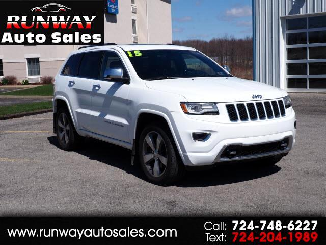 2015 Jeep Grand Cherokee 4dr Overland 4WD