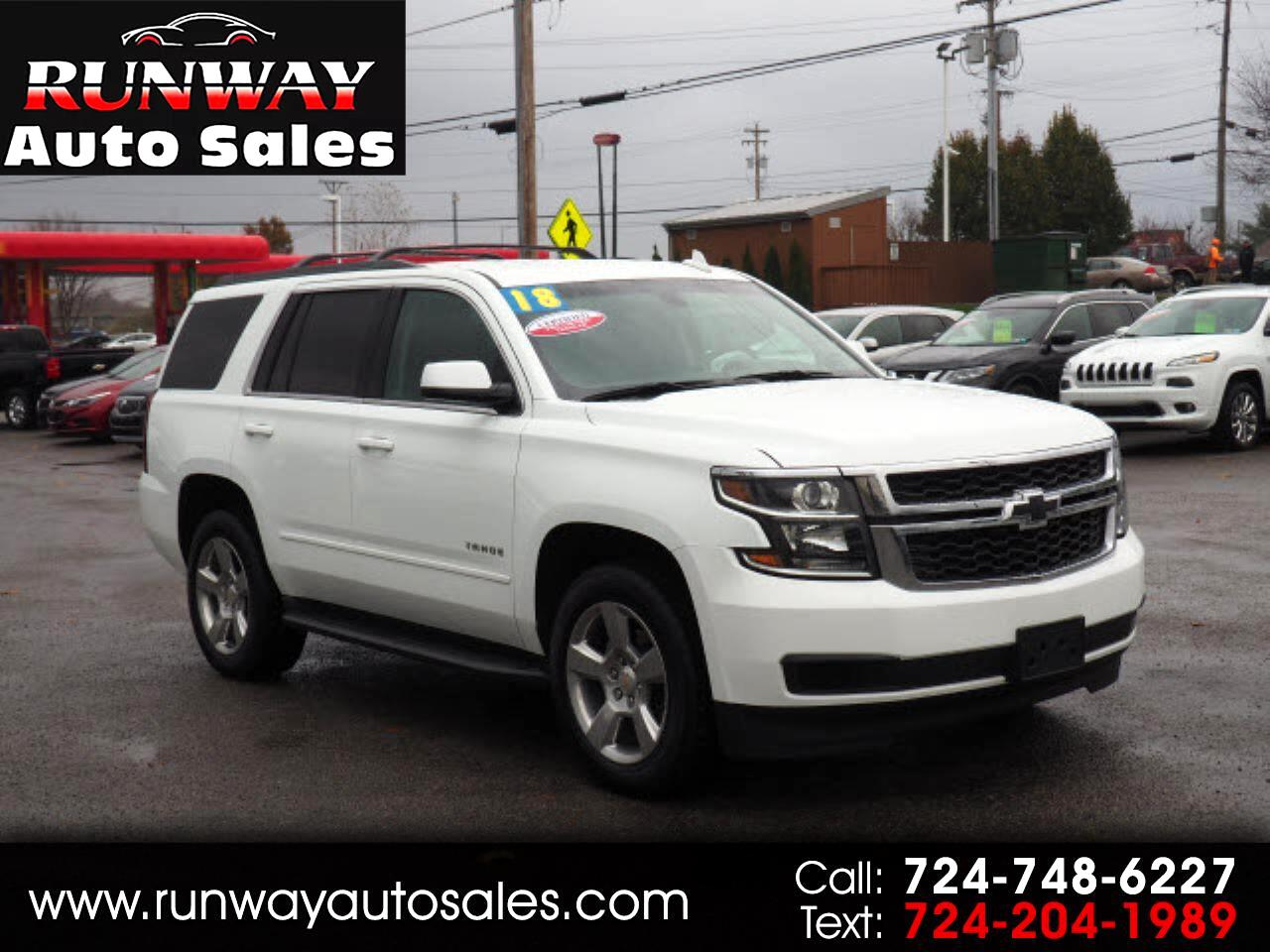 2018 Chevrolet Tahoe 1500 4dr 4WD