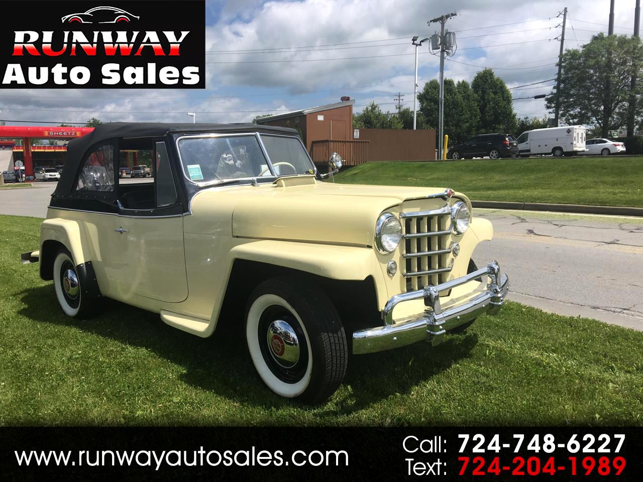1950 Willys Jeepster OVERLAND
