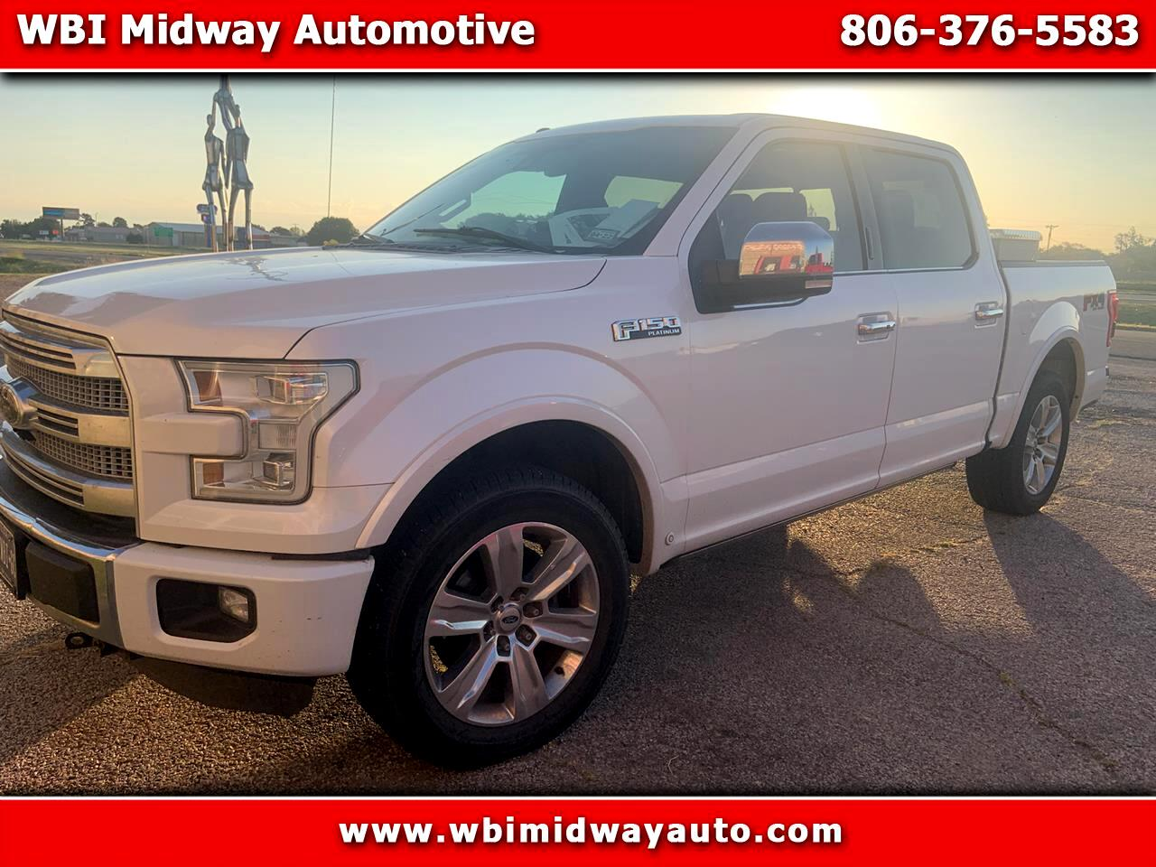 Ford F150 FX4 Supercrew 4WD 2015