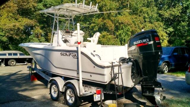 2007 Sea Fox 236 Center Console