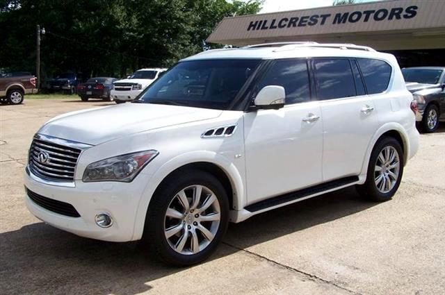 used 2014 infiniti qx80 2wd for sale in byram ms 39272 hillcrest motors llc. Black Bedroom Furniture Sets. Home Design Ideas