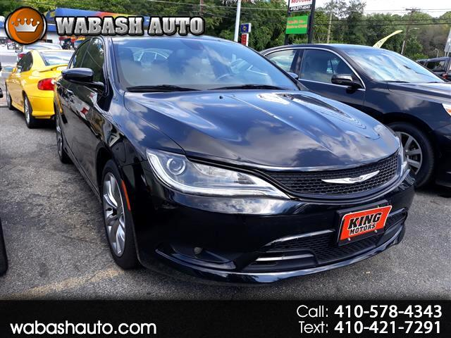 2015 Chrysler 200 S