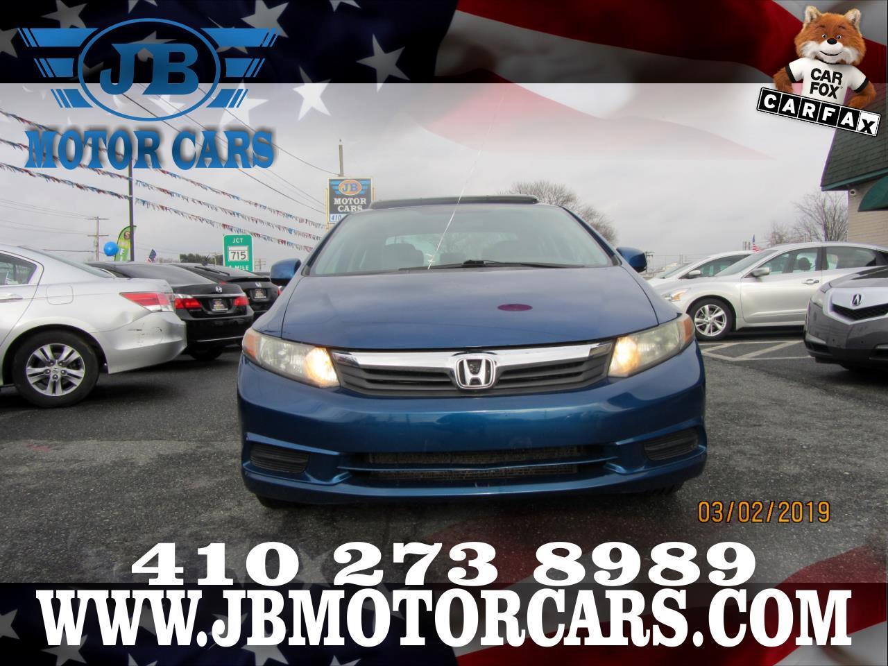 2012 Honda Civic Sdn 4dr Auto EX-L