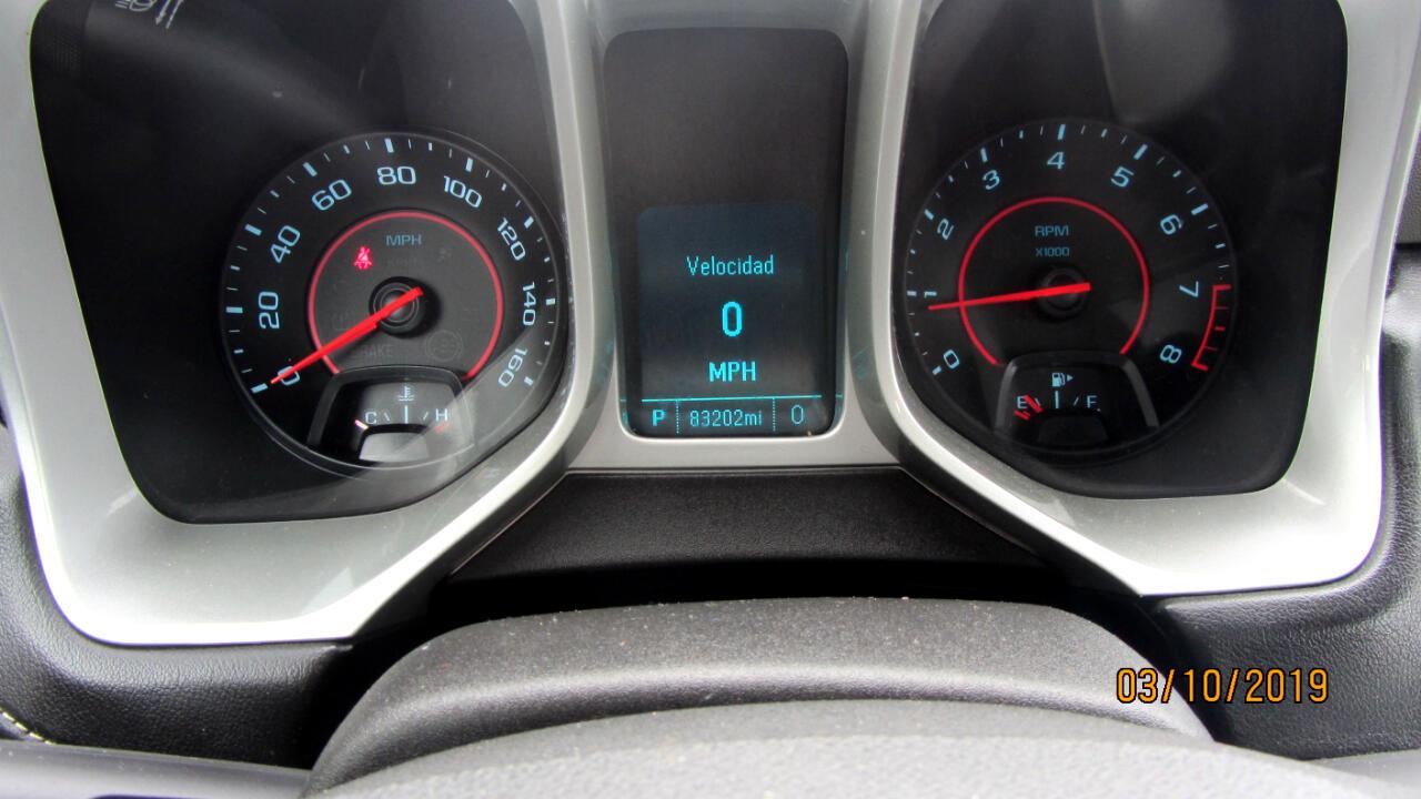 2014 Chevrolet Camaro 2dr Cpe LS w/2LS