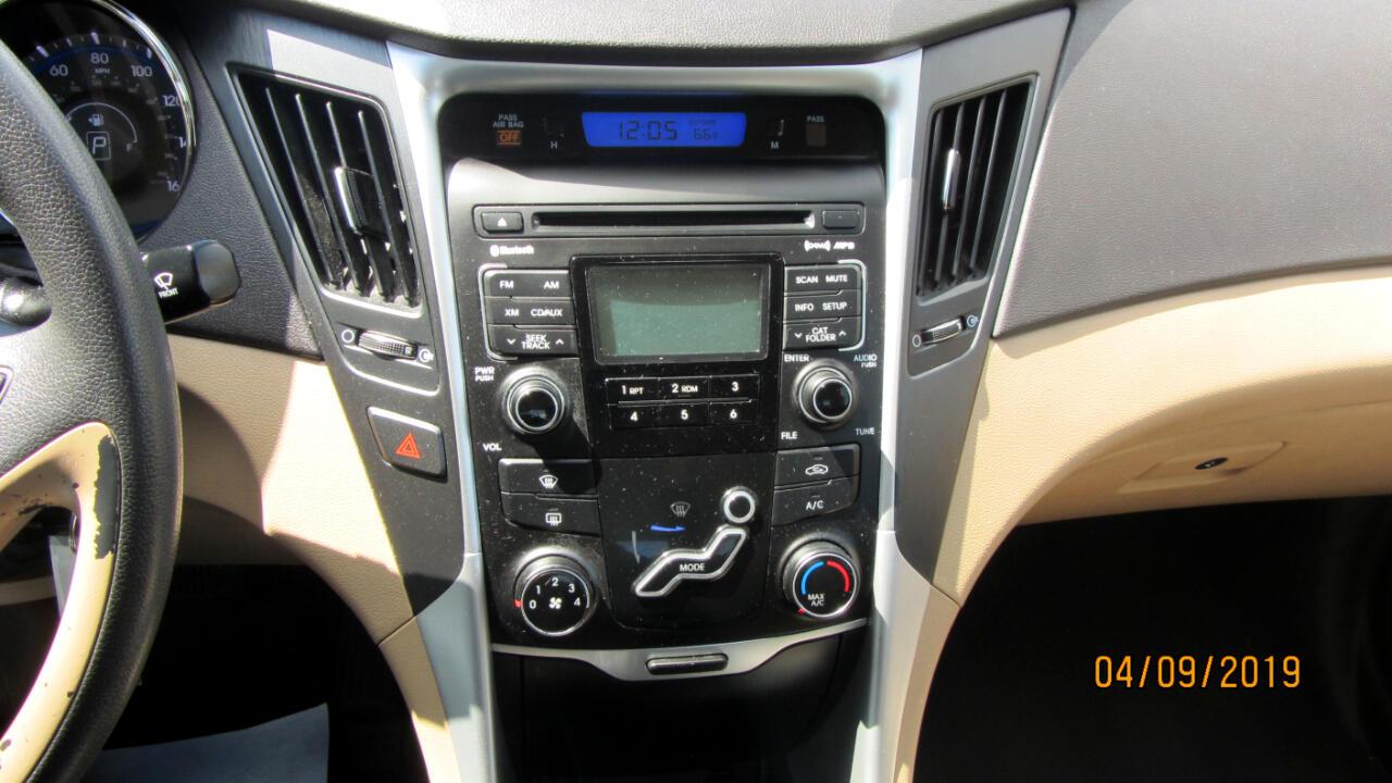 2011 Hyundai Sonata 4dr Sdn 2.4L Auto GLS PZEV