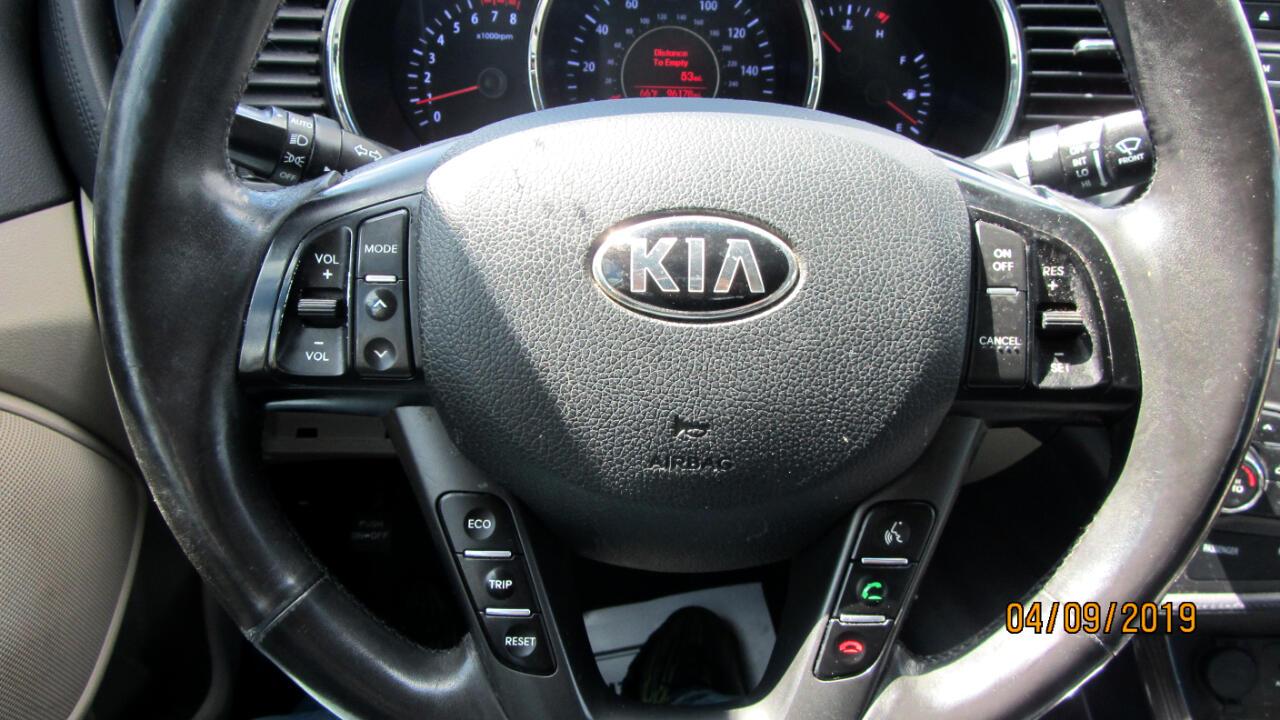 2013 Kia Optima 4dr Sdn EX