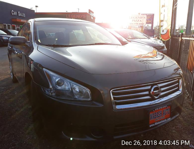 Nissan Maxima 4dr Sdn 3.5 S 2014