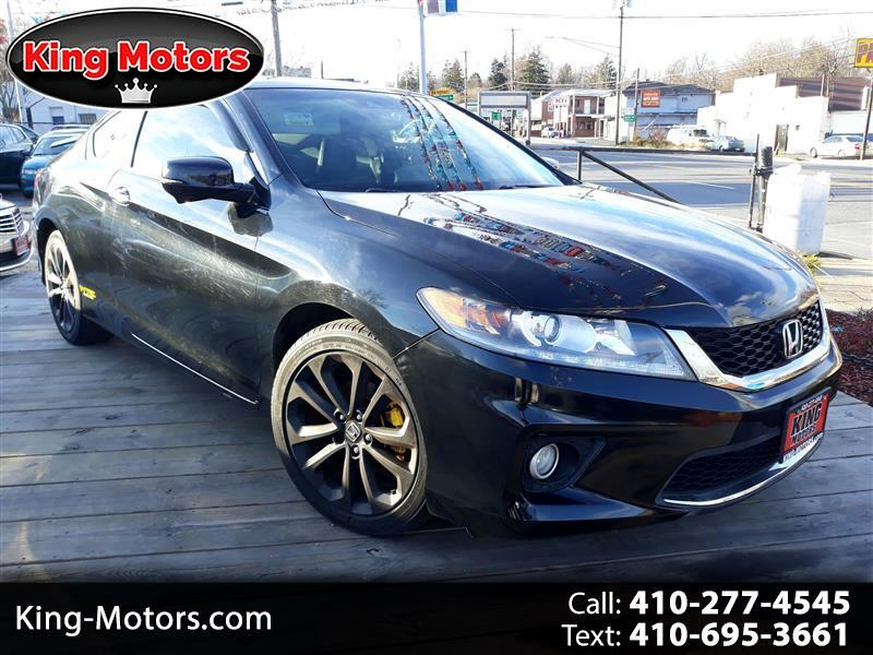 2013 Honda Accord Cpe 2dr V6 Man EX-L
