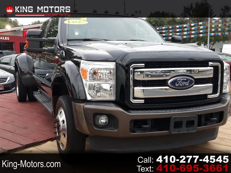 "Ford Super Duty F-450 DRW 4WD Crew Cab 172"" Platinum 2016"