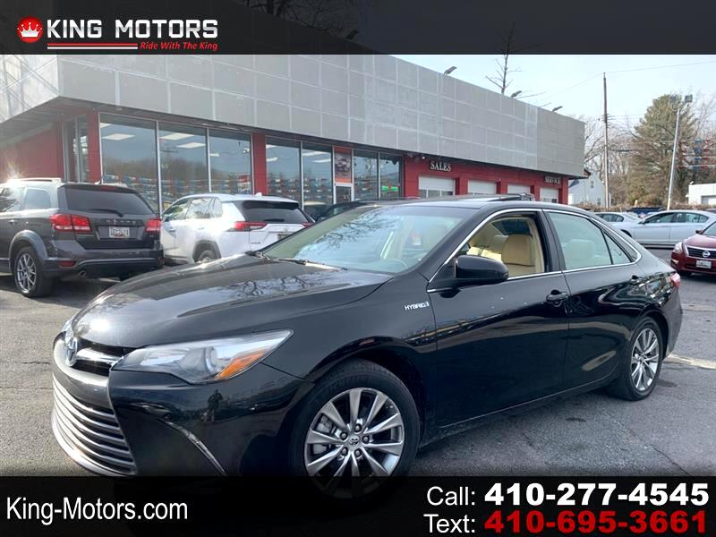 Toyota Camry 4dr Sdn XLE (Natl) 2015