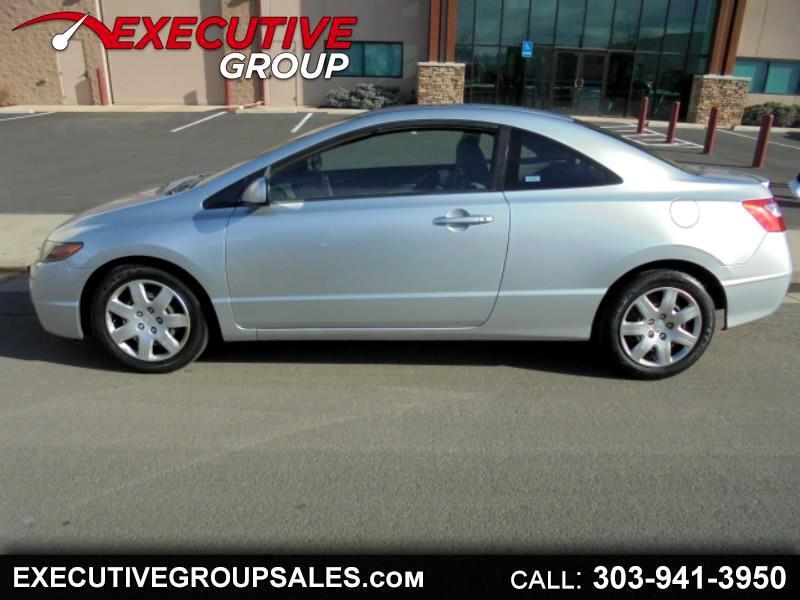 2008 Honda Civic LX Coupe AT