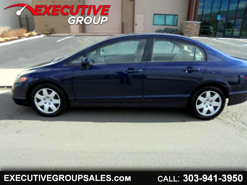 2006 Honda Civic LX Sedan AT