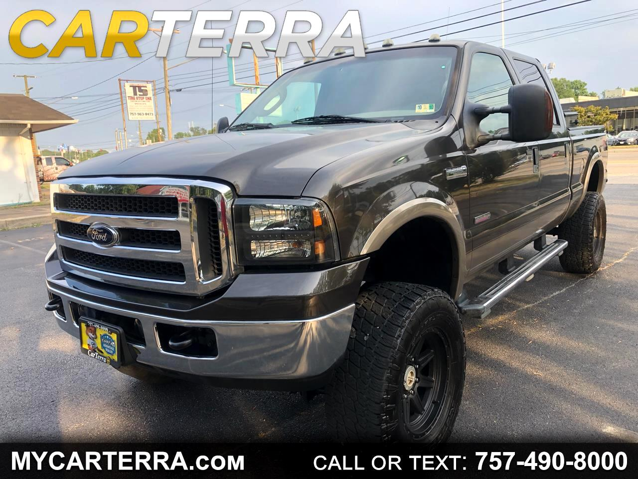 2005 Ford F-250 SD Lariat SuperCab LWB 4WD