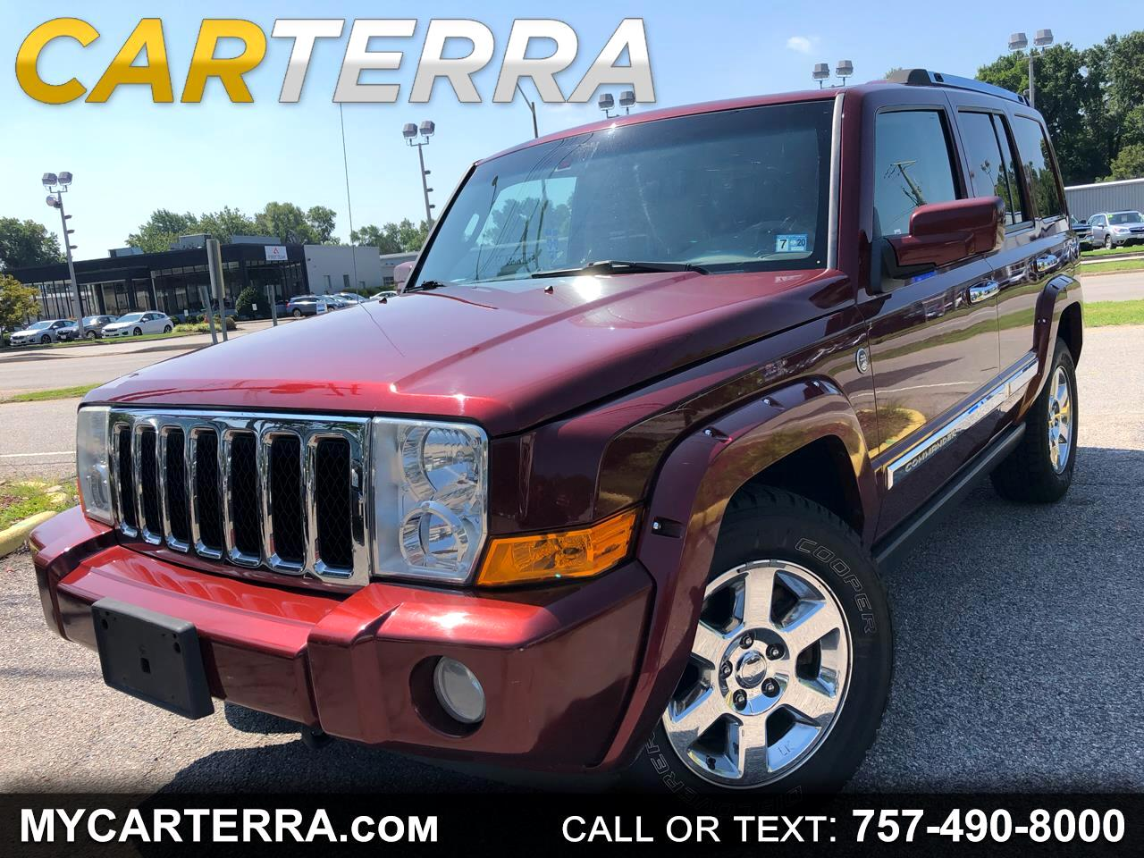 2008 Jeep Commander Overland 4WD