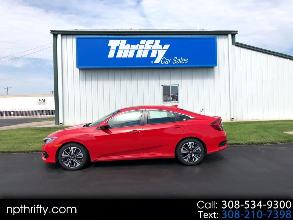 2018 Honda Civic Sedan 4dr CVT EX