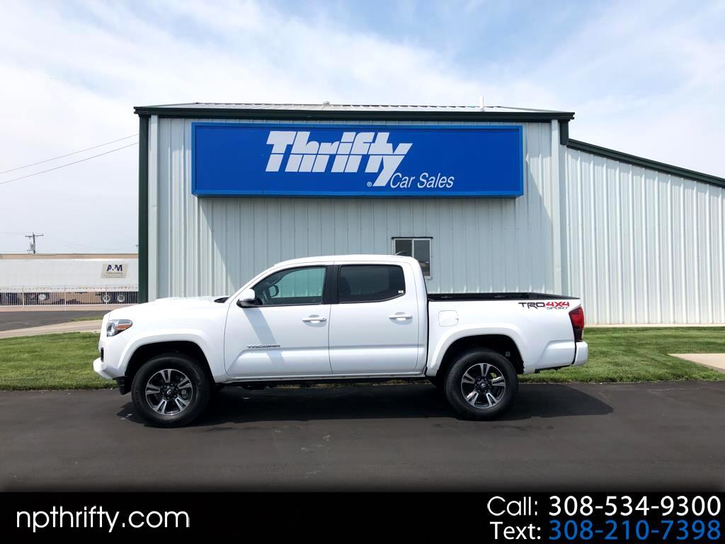 2018 Toyota Tacoma 4WD Double Cab LB V6 AT TRD Sport (Natl)