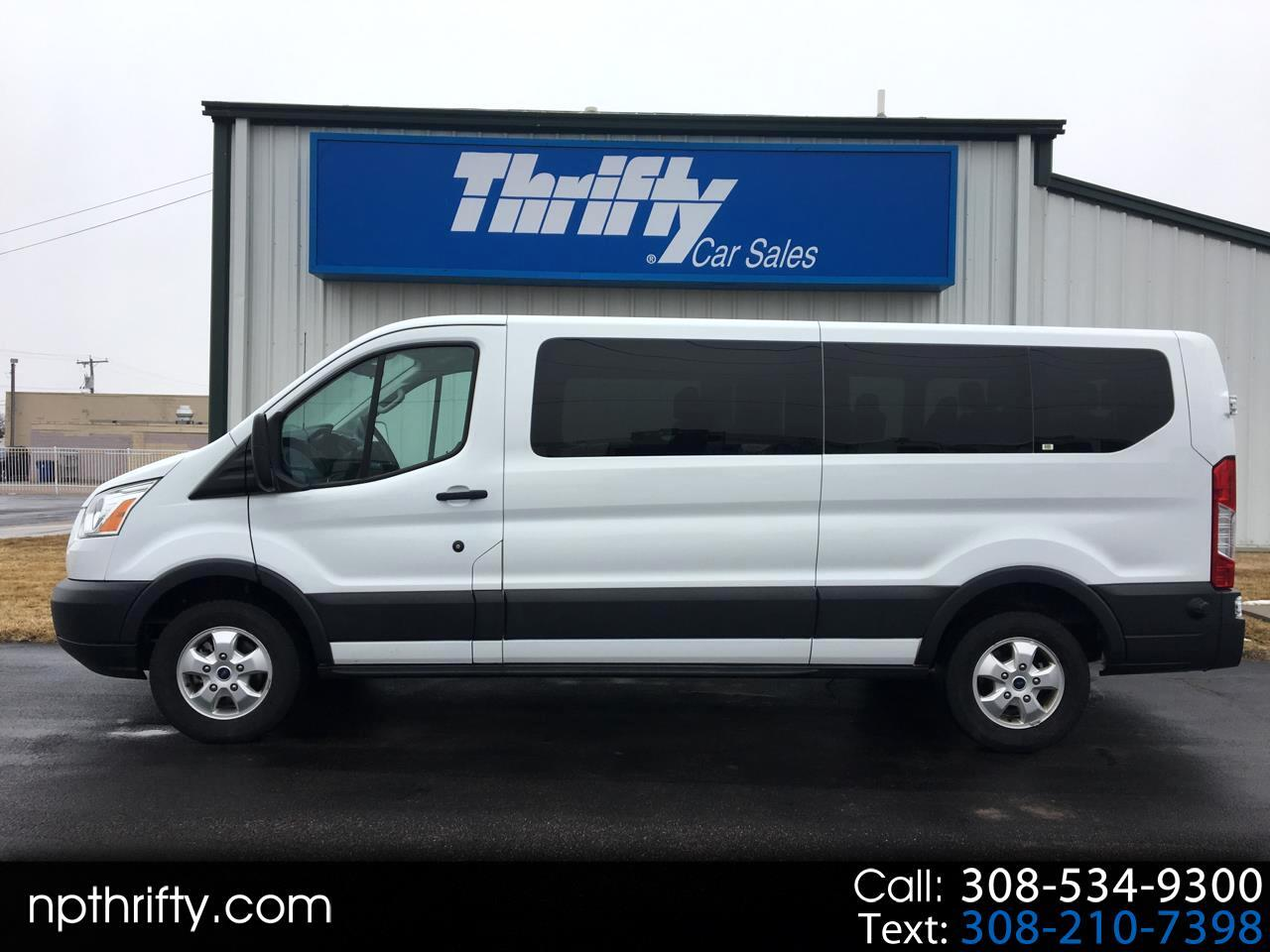 "2017 Ford Transit Wagon T-350 148"" Low Roof XLT Sliding RH Dr"