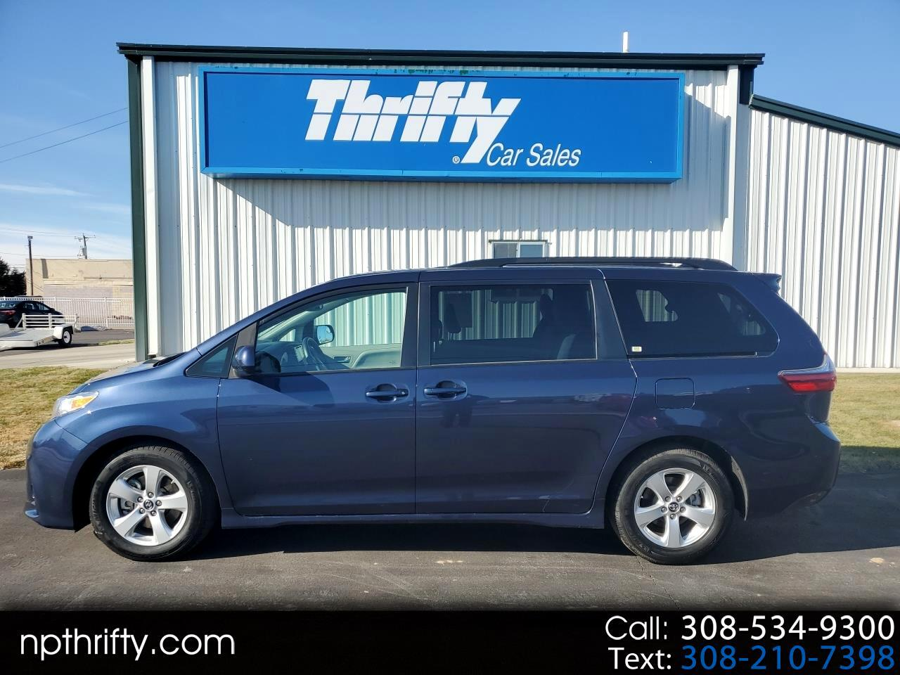 used 2020 toyota sienna le fwd 8 passenger natl for sale in north platte ne 69101 thrifty car sales used 2020 toyota sienna le fwd 8
