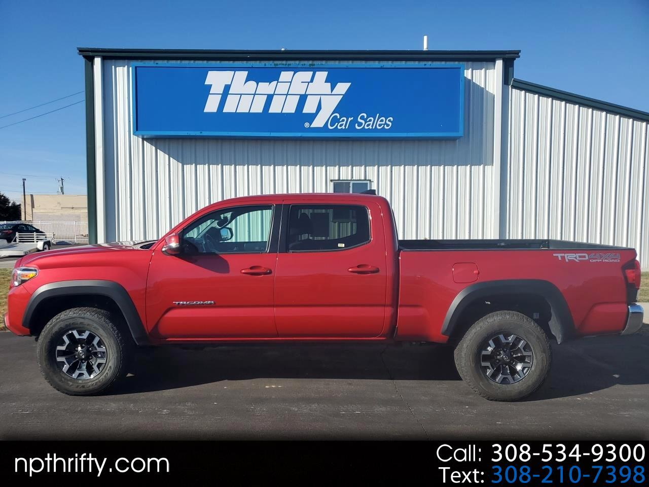 2019 Toyota Tacoma 4WD TRD Off Road Double Cab 6' Bed V6 AT (Natl)