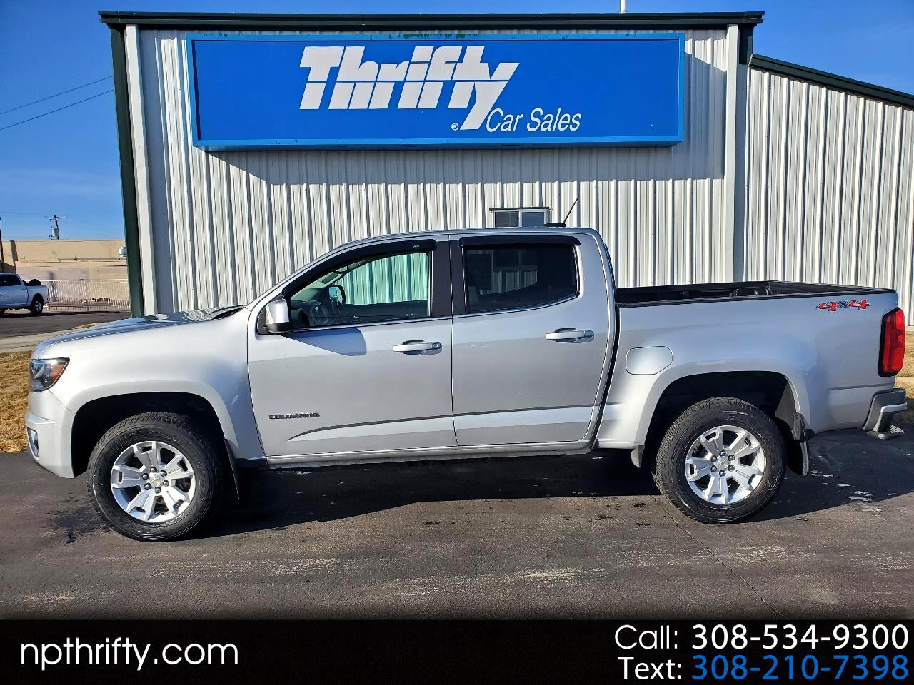 Chevrolet Colorado LT Crew Cab 4WD Short Box 2018