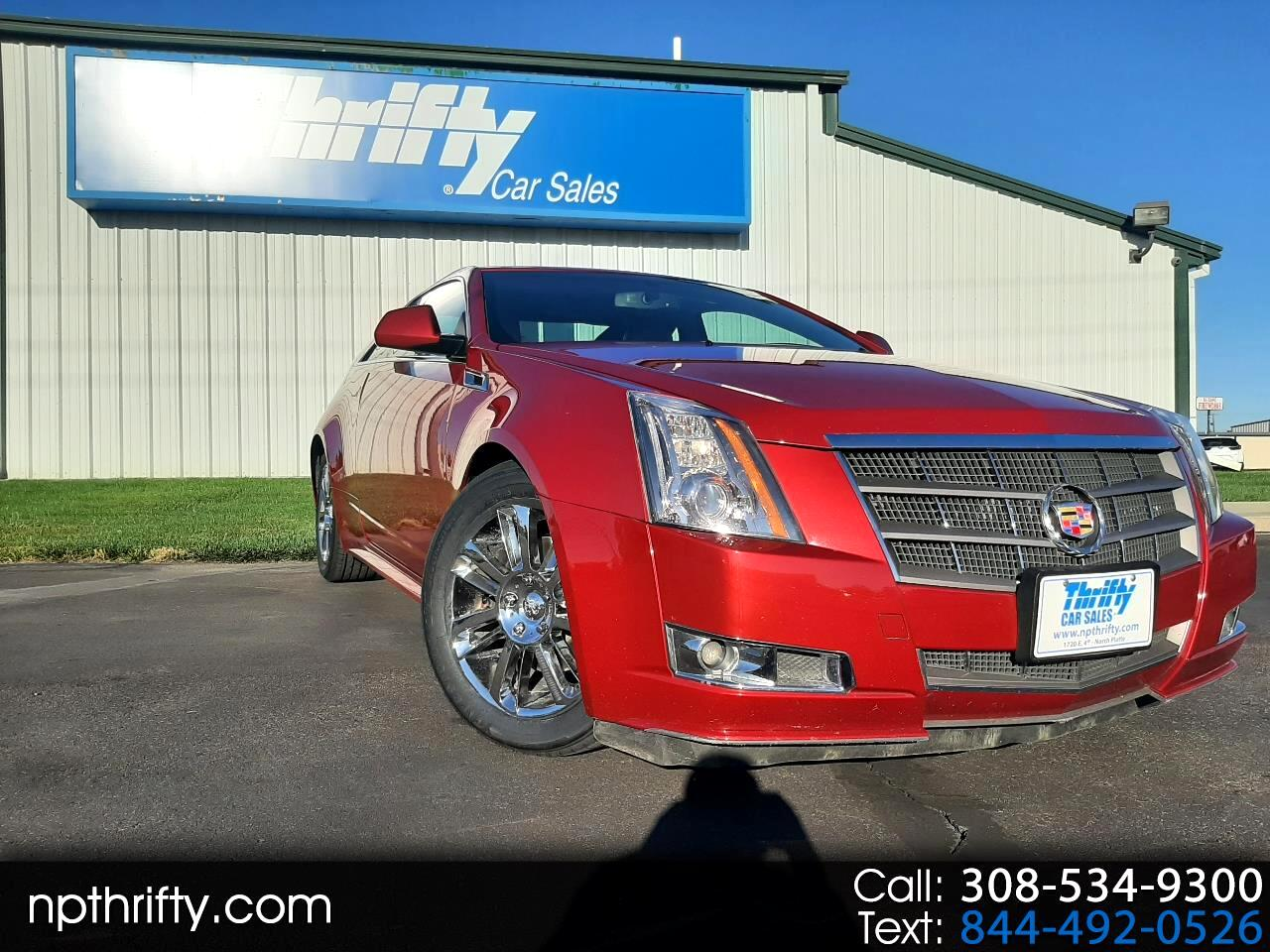 Cadillac CTS Coupe 2dr Cpe Performance AWD 2011