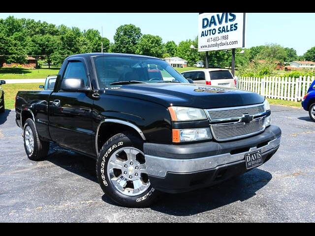 2006 Chevrolet Silverado 1500 Regular Cab Short Bed 2WD