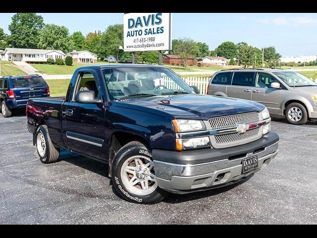 """2005 Chevrolet Silverado 1500 Reg Cab 119.0"""" WB Work Truck"""